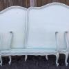 Pair of Twin French style beds, complete with original wood rails.   245.00 pr.