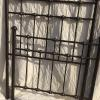 Iron bed, twin size.  Complete with iron side rails.   95.00.