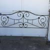 King size iron headboard.  80.00.