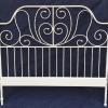 Ikea queen size iron headboard.  50.00.