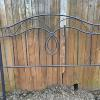 Queen size iron headboard.   75.00.