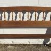 Full size maple headboard, 35.00.