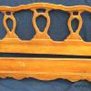Full size French Provincial style bed,   50.00.